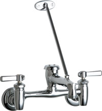 Chicago 897-CCP Wall Mount Service Sink Faucet