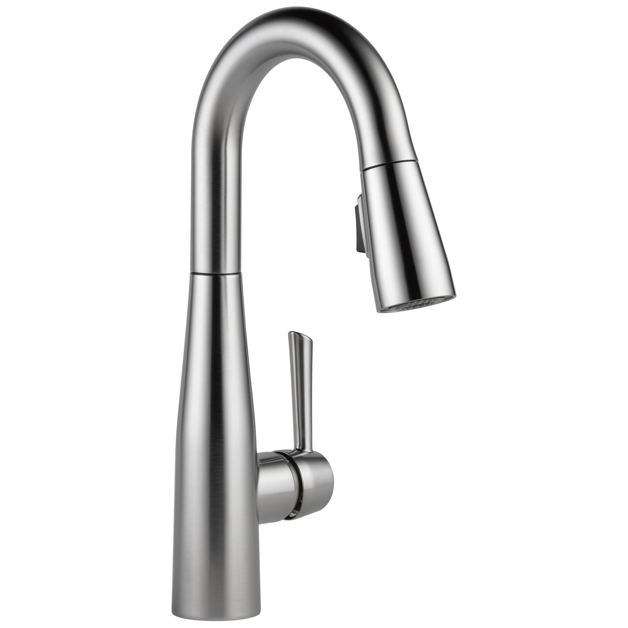 9913-AR-DST Delta Arctic Stainless Essa Bar/ Prep Faucet without Escutcheon