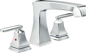 T2764 Delta Chrome Ashlyn Roman Tub Faucet Trim