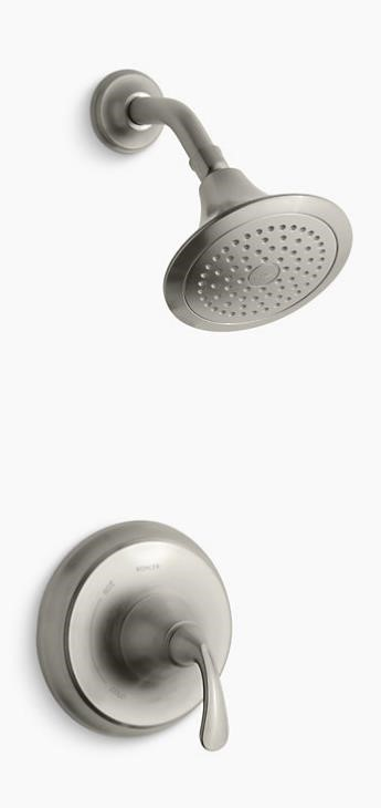KTS10276-4-BN Kohler Brushed Nickel Forte Rite-Temp Shower Faucet Trim