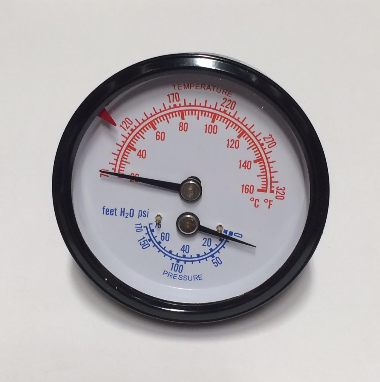 Temperature & Pressure Gauge
