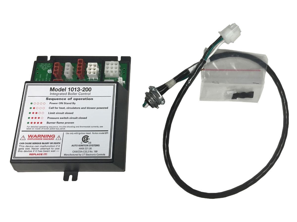 10c400 Integrated Boiler Control Module For Gv Heii