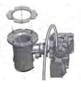 Gas Valve & Venturi Assembly for ECO70